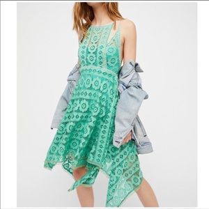 New Free people Just Like honey Lace Dress. Sz.4